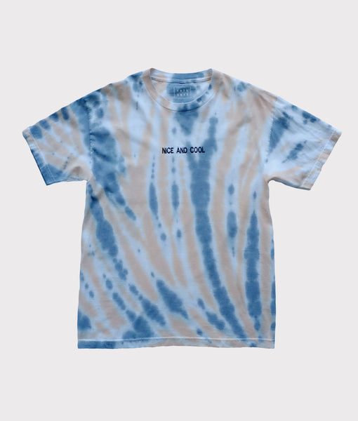 Nice and Cool Embroidered Tie Dye- Large