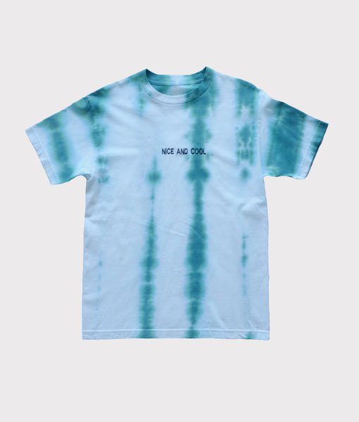 Nice and Cool Embroidered Tie Dye- Medium