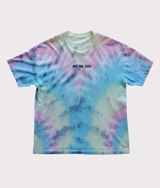 Nice and Cool Embroidered Tie Dye- Extra Large