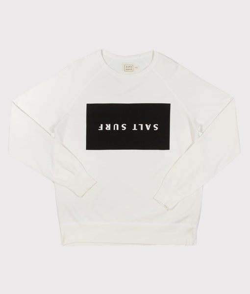 Upside Down Sweatshirt Cream- SALE