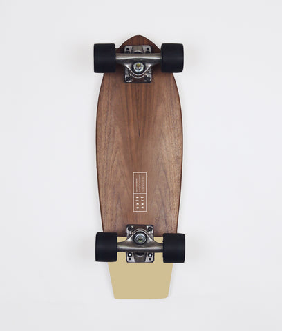 Walnut Cruiser- Pale Mustard