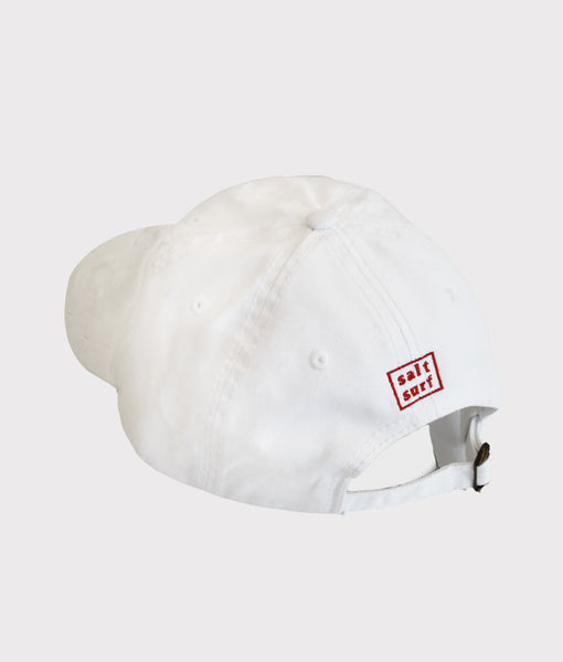 White Nice and Cool Dad Cap