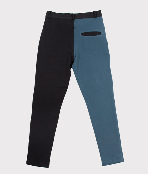 Color Block Sweatpant Slacks