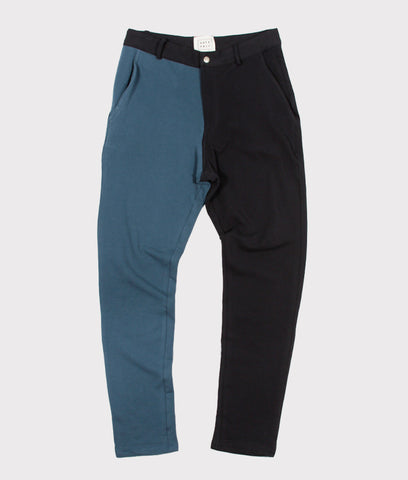 Color Block Sweatpant Slacks- SALE