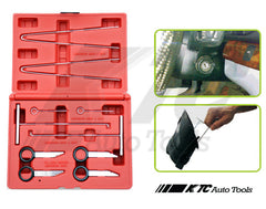 10pcs Mercedes Benz Radio Removal Dashboard Service Tool Kit
