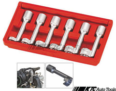 6PCS  L-TYPE OPEN ENDED RING WRENCH SOCKET SET (12PT)