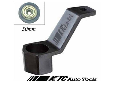 Honda Harmonic Balancer Damper Crankshaft Pulley Wrench Holder Removal Tool 50mm