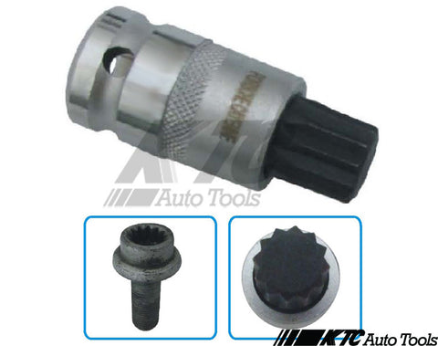 Porsche 16mm XZN triple-square socket