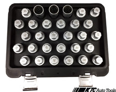 BENZ WHEEL LOCK SCREW SOCKET KIT (30 PCS)