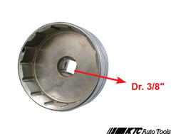 "Toyota / Lexus Oil Filter Wrench (Dr. 3/8"", 14 Points, 64.5mm)"