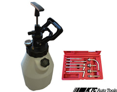 Air and Hand Powered ATF Transmission Filling System