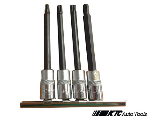 "4PCS 1/4""dr Star AIRBAG TOOL (T25/T27/T30) Audi / Volkswagen / BMW / Mercedes Benz / Vauxhall/Opel"