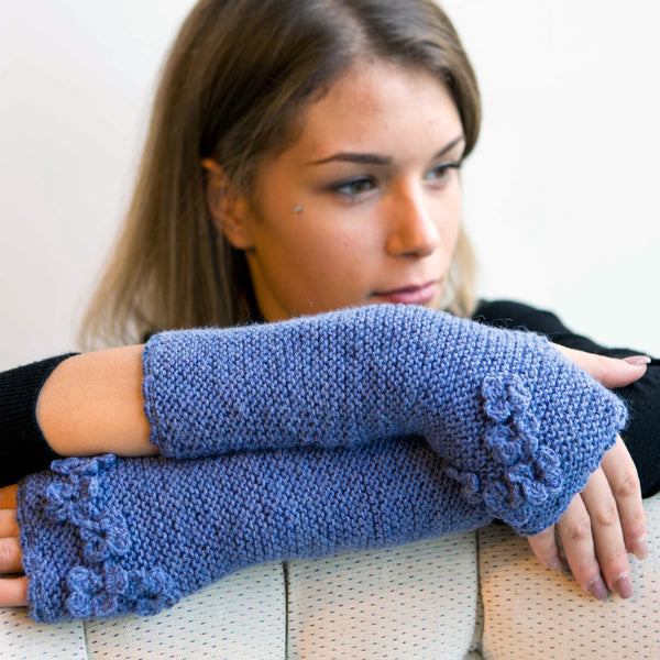 Bluebell Wrist Warmers