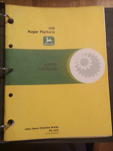 John Deere 188 Auger Platform Parts Manual