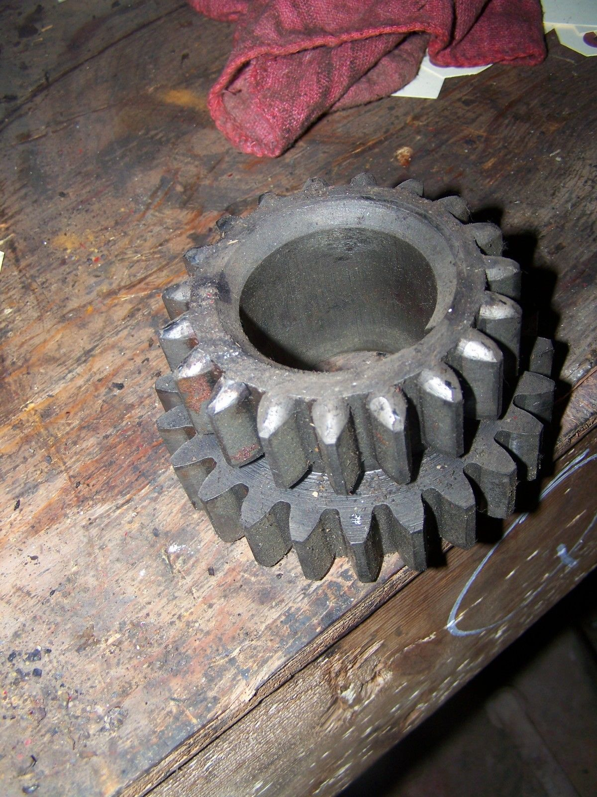 Farmall Super M First and 2nd Speed Drive Gear 357163R1