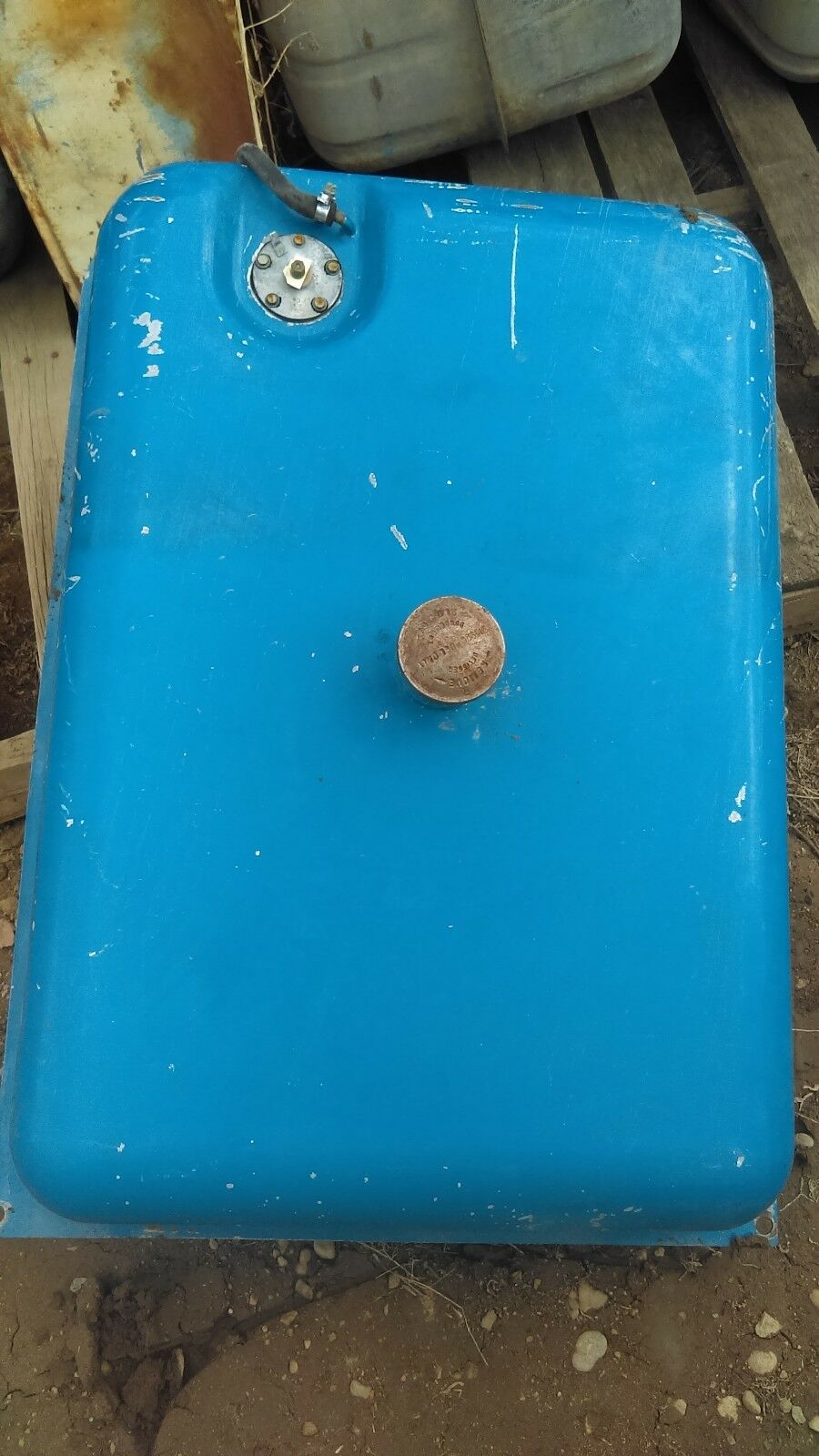 Ford New Holland 8630 Fuel Tank D7NN9002B