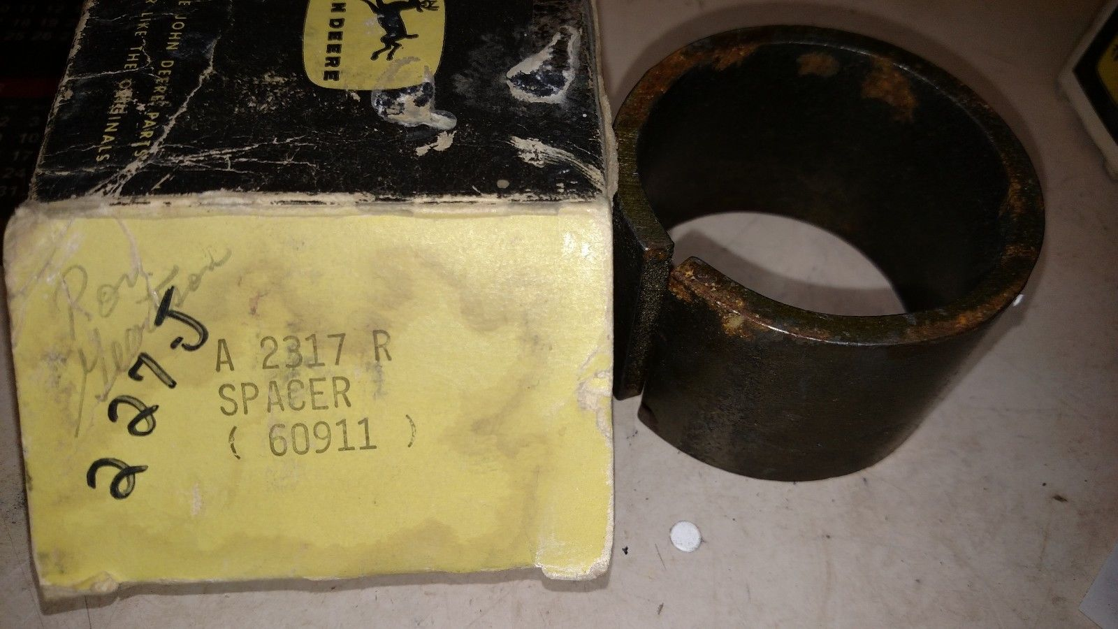 John-Deere JD-A Counter Shifter Spacer A2317R