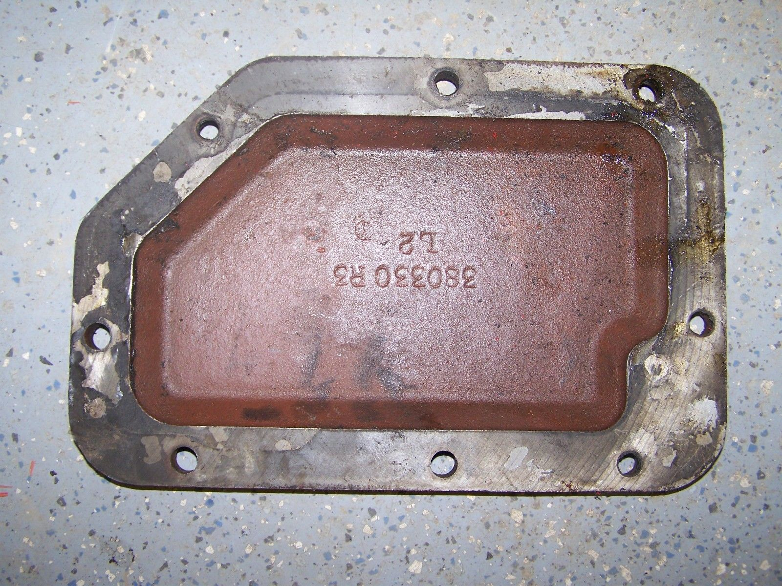 Case IH Cover Side Plate 380330R3