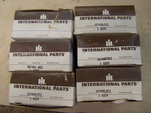 357990R11 New Pack of 6 Connecting Rod Bearings Made for Case-IH Tractor Models