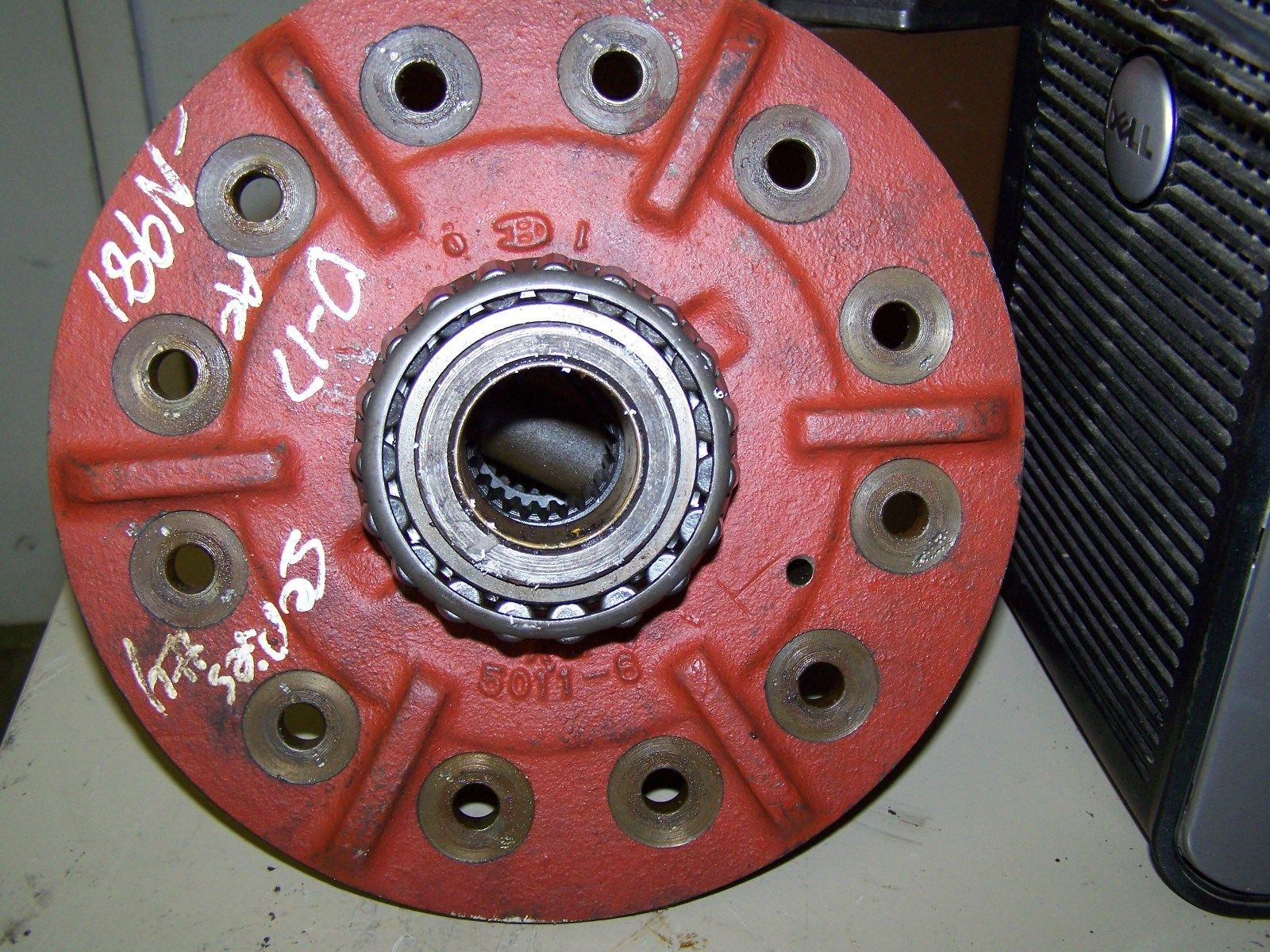 Allis Chalmers D17 Differential Assembly