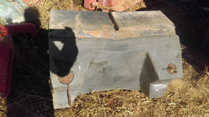 Massey Ferguson 2705 Fuel Tank and Steel Platform 3039334M93 3039364M95