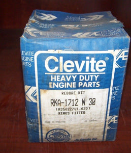 CLEVITE Rebore Kit RKA-1712 N 30  RKA1712 N30  FORD 401 Turbo Engine