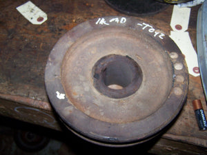 Farmall MD Fan Drive Pulley 	 6765DC