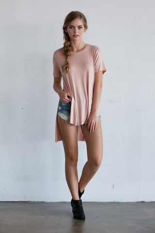 Layne Ringer T-Shirt Dress
