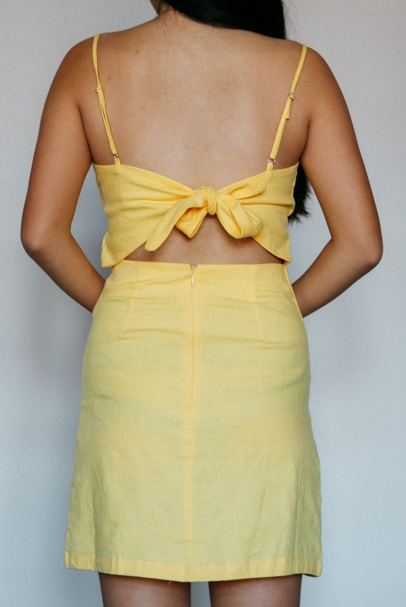 Mi Amor Dress // Yellow