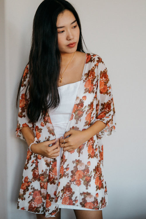 Sweet Nothings Kimono // Cream