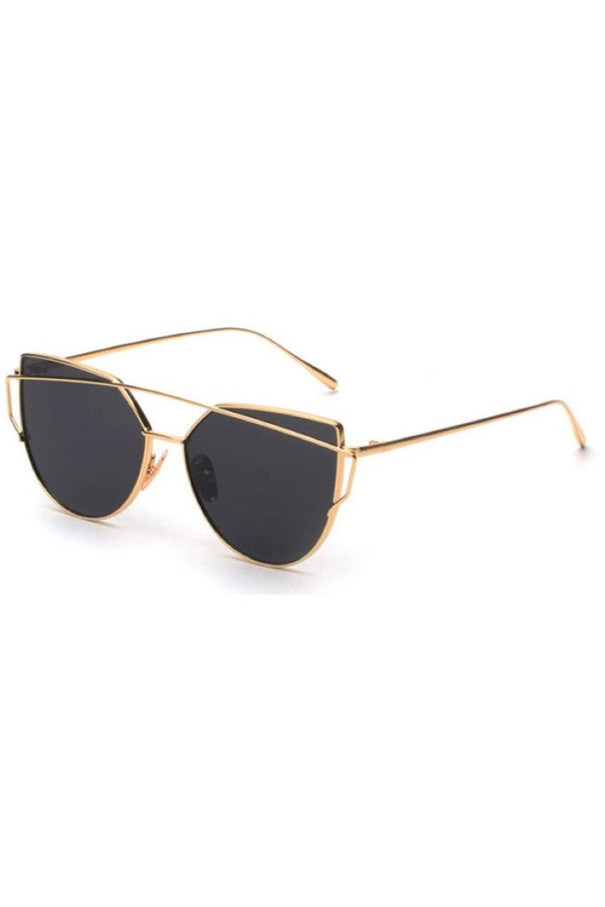 017085004ff Luxe Sunglasses (black gold) – Silk   Honey