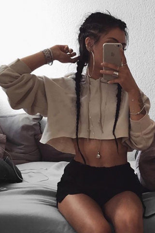 Coco Crop Top // Maroon