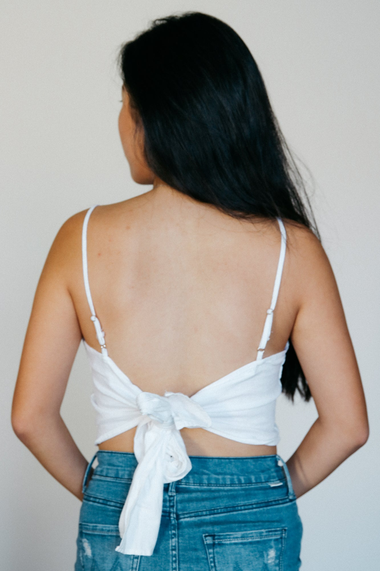 Coco Crop Top // White