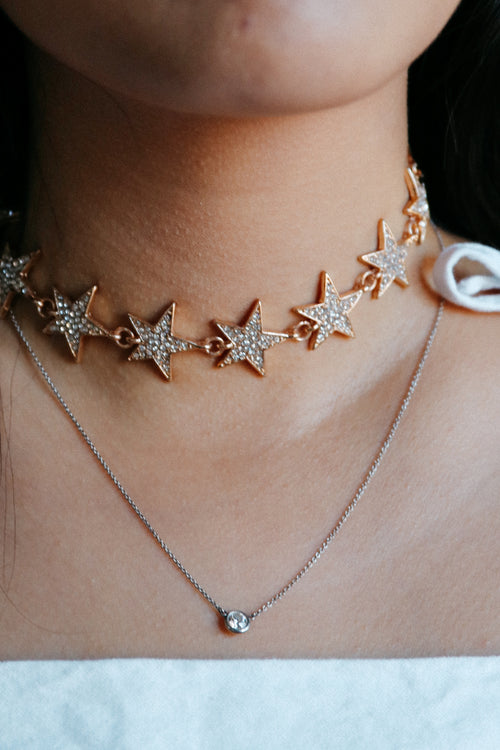 Starlight Choker // Gold