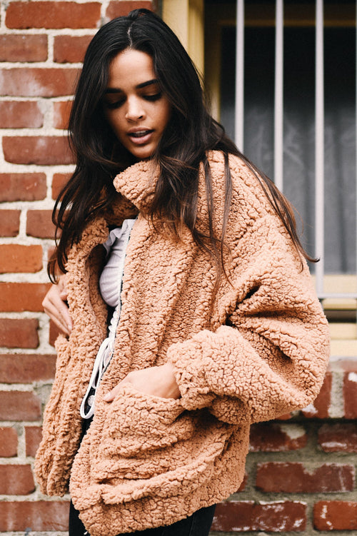 Sunday Love Coat // Camel