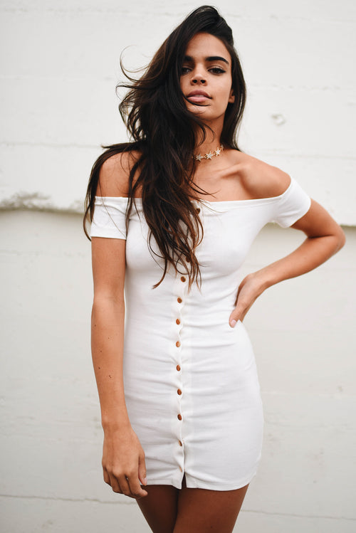 Alya Dress // White
