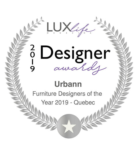 Designer Awards: Urbann is Furniture Designers of the Year 2019
