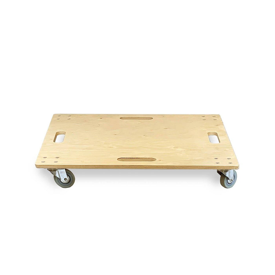 Plate with wheels for lectern / podium from Urbann Products - front view
