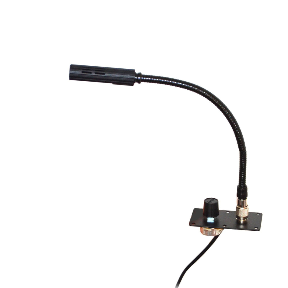 Lectern's LED Reading Lamp from Littlite 120/240V side view