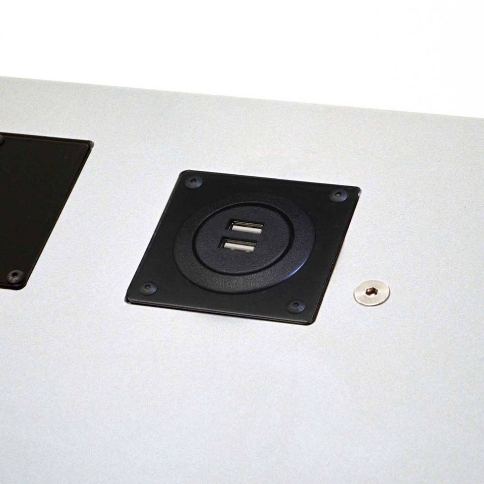 Urbann - USB outlets on lectern