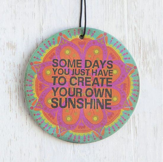 create your own sunshine air freshener