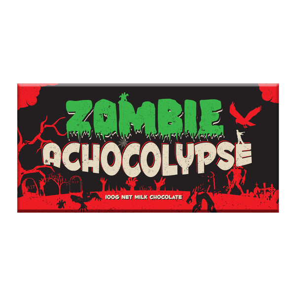 zombie achocolypse milk chocolate