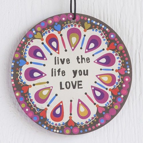 live the life you love air freshener