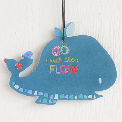 Go with the Flow Whale Air Freshener