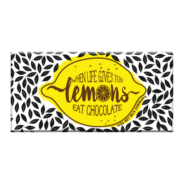 When life gives you lemons chocolate