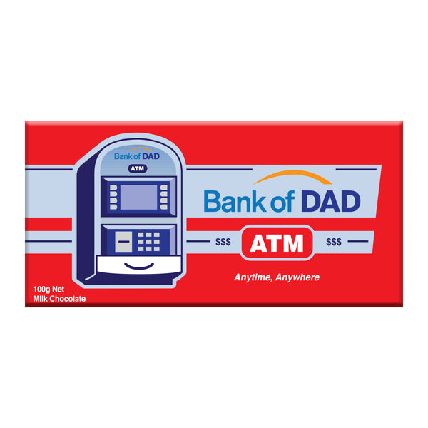 Bank of dad milk chocolate