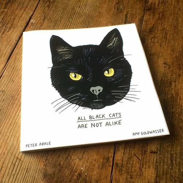 All Black Cats Are Not Alike Book