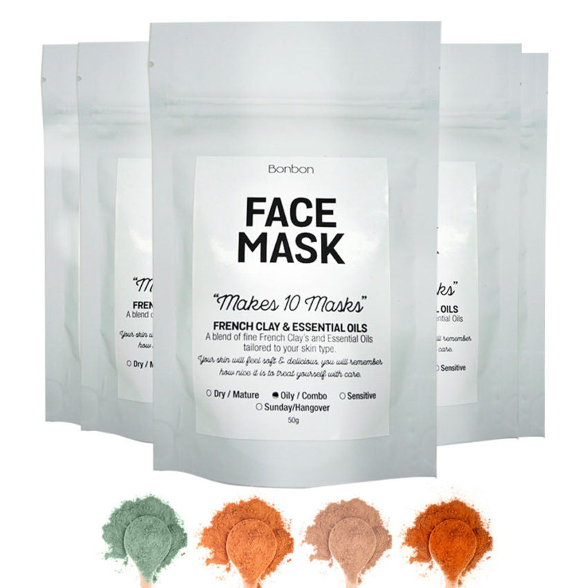 French Clay Face Masks - Sunday Recovery