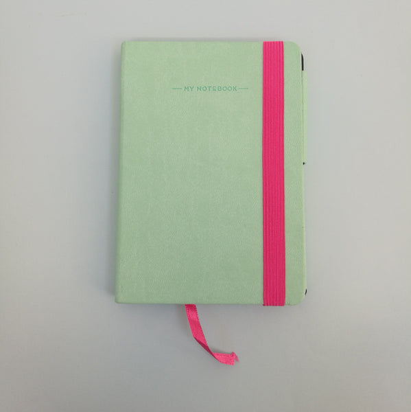 Green Pastel Notebook