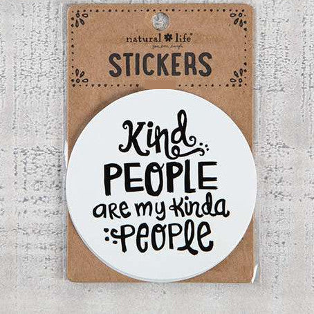 Kind People Sticker